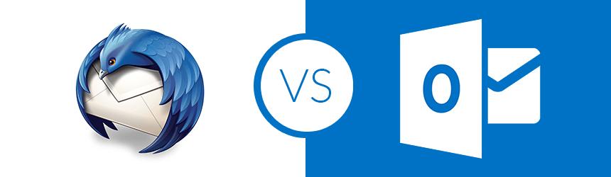 Mozilla Thunderbird ali Microsoft Outlook