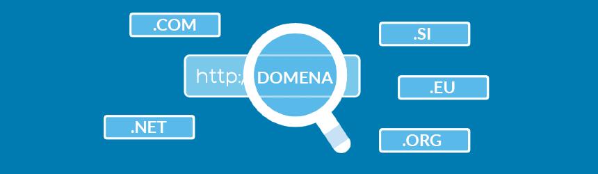 Registrirajte več vrhnjih domen