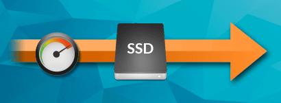 SSD diski za super hitro delovanje spletnih strani
