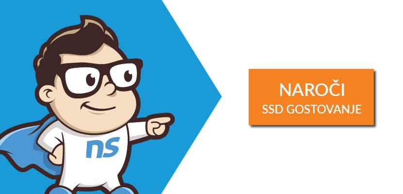 Naroči SSD gostovanje