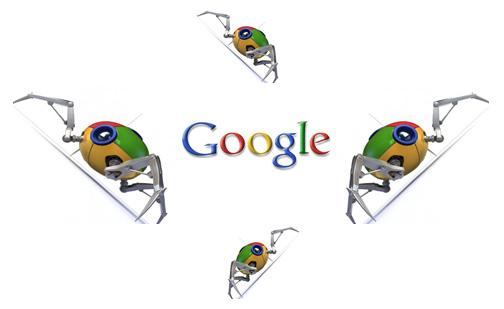 Google spletni pajki za indeksacijo strani