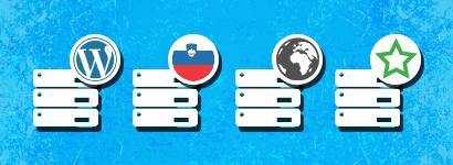 Kakšno gostovanje naj izberem za WordPress spletno stran?