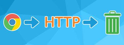 Zaradi brskalnika Google Chrome se HTTP počasi umika