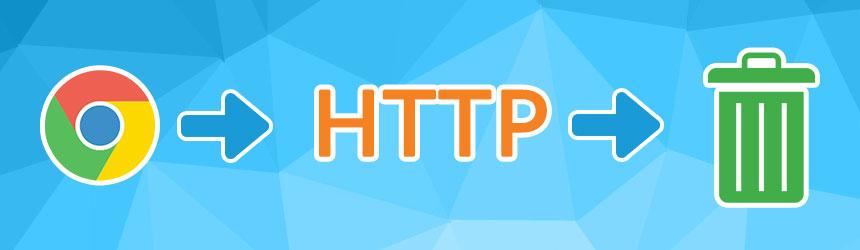 Google Chrome in HTTP