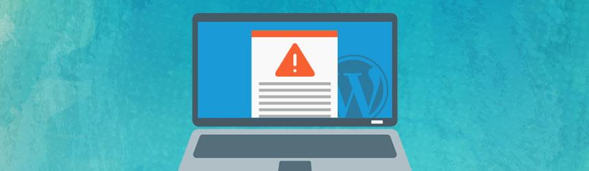 Napadena WordPress spletna stran
