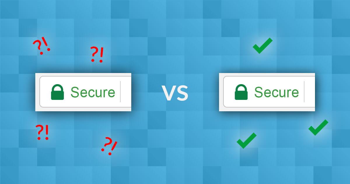 Slabosti brezplačnega SSL certifikata