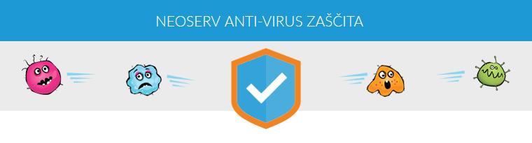 NEOSERV anti-virus zaščita