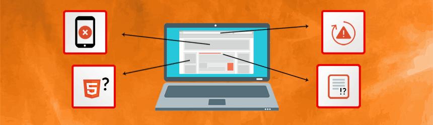 Zakaj spletna stran ni uspešna