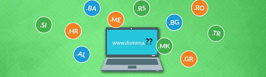 Balkanske domene v akciji