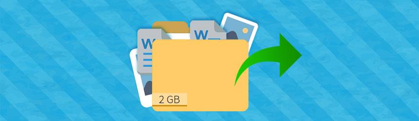 Pošiljanje večjih datotek