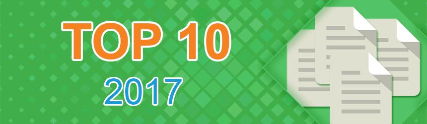 10 najbolj branih Neoserv objav leta 2017