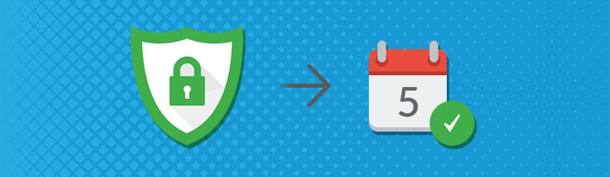 Razširjeni SSL certifikat v petih dneh