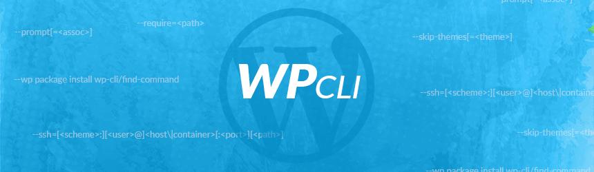 WP-CLI uporaba