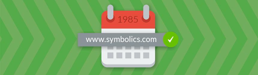 Najstarejša domena na svetu je še vedno aktivna