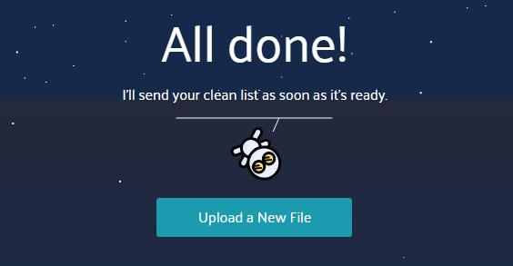 MoonMail - prečiščen e-poštni seznam