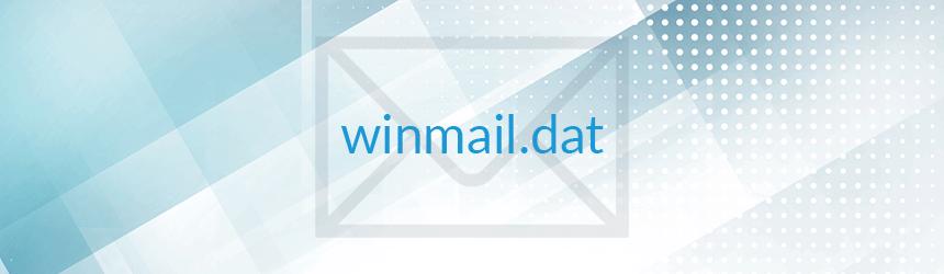 Kako odpreti priponko winmail.dat?