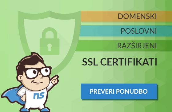 SSL certifikati NEOSERV
