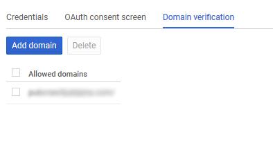 Verifikacija dodatne domene