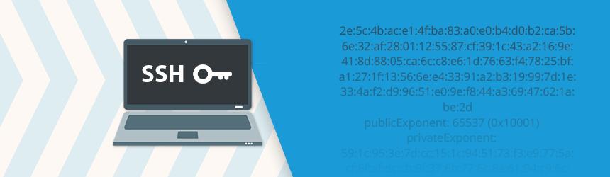 cPanel in SSH ključi