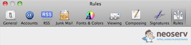 Mac Mail - Rules