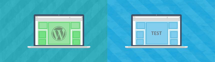 Kako ustvariti testno WordPress okolje?