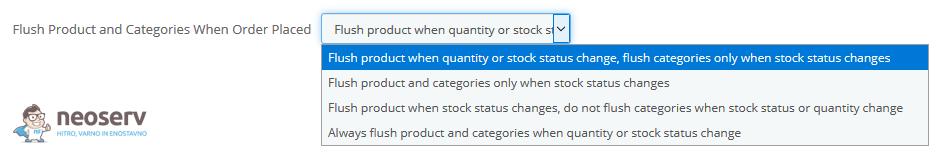PrestaShop - Osvežitev izdelkov in kategorij