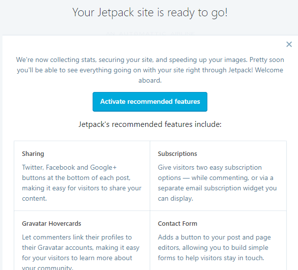 Jetpack funkcije