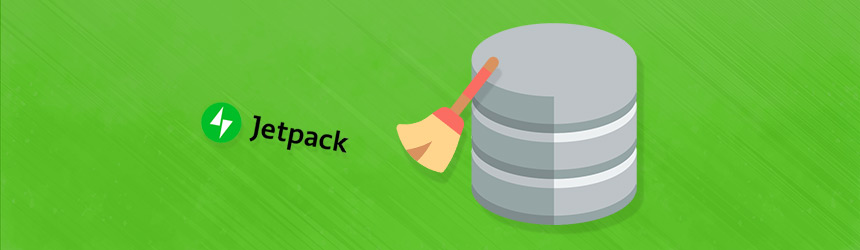 Jetpack - čiščenje WordPress baze podatkov