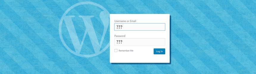 Sprememba WordPress gesla